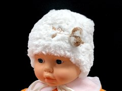 Krochetta шапка с утепл. подкл.хлопок (р.38,40,42)