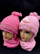 amal комплект шапка двойн.вязка+шарф (р.50-54)