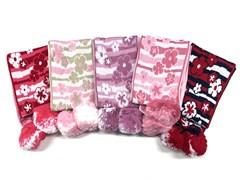 шарф модель 1225 для девочки (130х14)