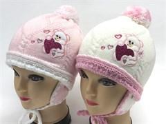 achti шапка подклад флис (р.48-50) мишка