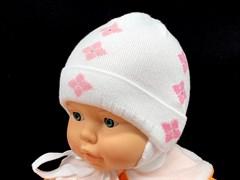 amal шапка одинарн.вязка (р.42-44) - ромбики