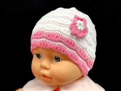 amal шапка одинарн.вязка (цветок)(р.44-46)