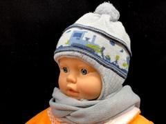 Acer комплект шапка двойн.вязк.+шарф (р.44-46)
