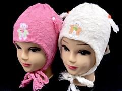 ambra шапка amb17 подкладка хлопок (р.48-50) розовая
