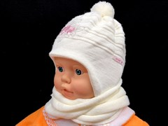 Acer комплект шапка двойн.вязк.+шарф (р.40-42)