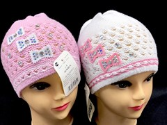 AGBO шапка 154 RENATA одинарн.вязка (р.48-52)