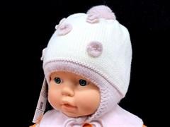 Barbaras модель AO 108/ME шапка с утеплителем, подклад хлопок (р.42-44)