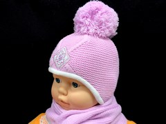 Magrof комплект KOD-830 шапка подкл.флис+шарф (р.38,42,44)
