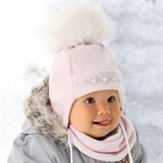 .AJS комплект 36-311 шапка флисовая + манишка (р.42,46)