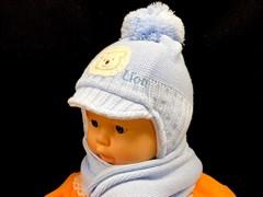 Magrof комплект KOD-801 шапка подкл.флис+шарф (р.38,40,42,44)