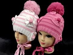 Aguti модель W112 шапка двойн.вязка (р.50-52)