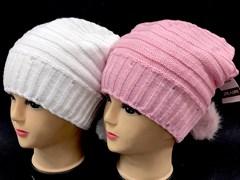 HILLTOP арт. 334 шапка для девочки подклад флис (р.54-56)