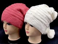 HILLTOP арт. 133 шапка для девочки подкл.флис (р.54-56)