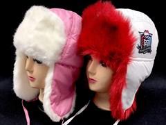 шапка болоневая для девочки (р.54-56)