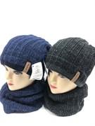 AGBO комплект 1667 DON шапка подкл.флис+снуд (р.52-54)