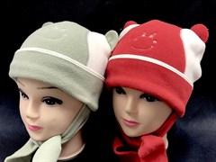 Magrof шапка KOD-569 флис,подкл.хлопок (р.46-48,50-52) красная