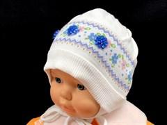 TuTu модель 2349/1 шапка одинарный хлопок (р 44-48)