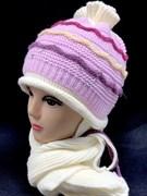 aguti комплект шапка подклад флис + шарф (р.48-50)