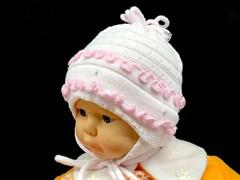 GRANS шапка Ku 59 одинарная вязка (р.42-44)