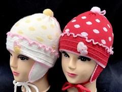 GRANS шапка  двойная вязка (р.48-50)