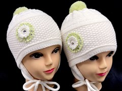 AGBO шапка двойная.вязка (р.48-50)