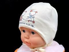 MALAJKA шапка B 877 одинарный трикотаж (р.40-42)