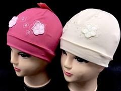 Witmar шапка одинарн.трикотаж (цветы)(р.48-50)