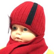 ERASSI комплект  шапка двойн.вязка + шарф (р.44-46)