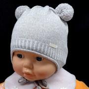 GRANS шапка N150 одинарн.вязка+ подклад хлопок (р.36-38)