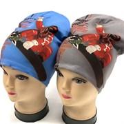 ambra шапка двойн.трикотаж спорт (р.52-54)