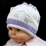 Kolad шапка одинарная вязка (р.44-46)