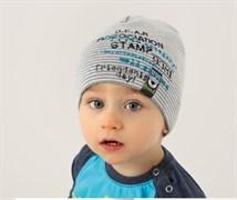 .AJS шапка 38-039 одинарн.вязка (р.44-46)