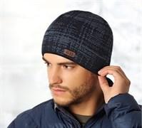 .AJS шапка 36-549 шапка двойная вязка (р.52-54)