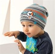 .AJS шапка 38-042 одинарн.вязка (р.50-52)