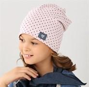 .AJS комплект 38-140 шапка одинарн.трикотаж + платок (р.52-54)