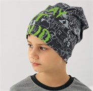 .AJS шапка 38-169 одинарн.трикотаж (р.52-54)