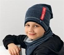.AJS шапка 38-143 один.трикотаж (р.52-54)