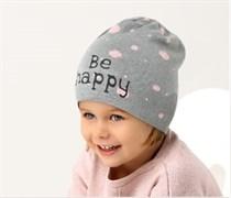 .AJS шапка 38-027 одинарн.вязка (р.50-52)