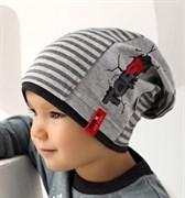 .AJS шапка 38-078 одинарный трикотаж  (р.52-54)