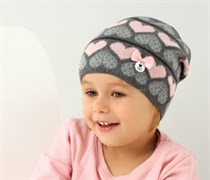 .AJS шапка 38-056 одинарн.вязка (р.50-52)