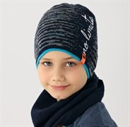 .AJS шапка 38-156 одинарн.вязка (р.54-56)