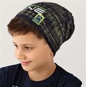 .AJS шапка 38-164 одинарн.вязка (р.54-56)