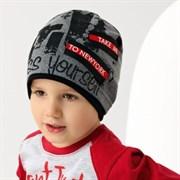 .AJS шапка 38-144 одинарн.трикотаж  (р.48-50)