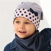 .AJS шапка 38-066 одинарн.трикотаж (р.52-54)