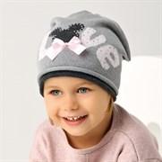 .AJS шапка 38-072 одинарн.вязка (р.52-54)