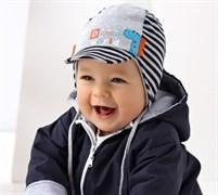 .AJS шапка 38-014 двойн.трикотаж (р.44-46)