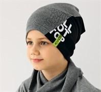 .AJS шапка 38-178 один.трикотаж (р.48-50)