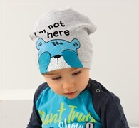 .AJS шапка 38-047 один.трикотаж (р.48-50)