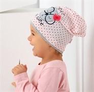 .AJS шапка 38-070 одинарн.трикотаж (р.44-46)