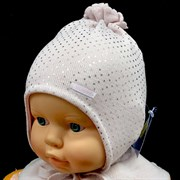 GRANS шапка N143 вязаная, подклад хлопок (р.36-38)